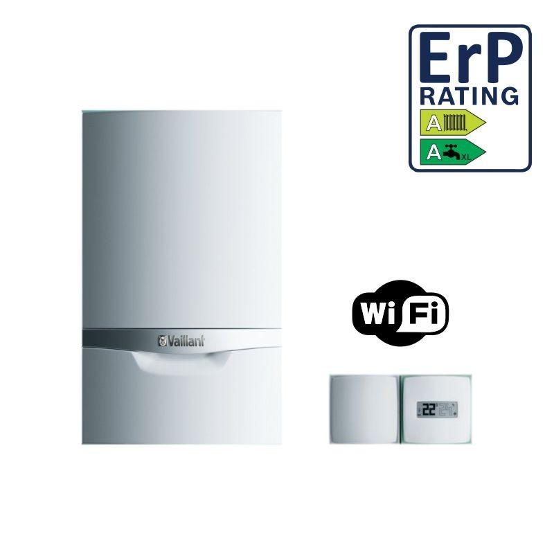 Vaillant ecoTEC plus VMW256/5-5+ Caldaia Murale ErP Metano GPL Camera Stagna Condensazione Smart WiFi (25 kW-25 kW) Modello 2017