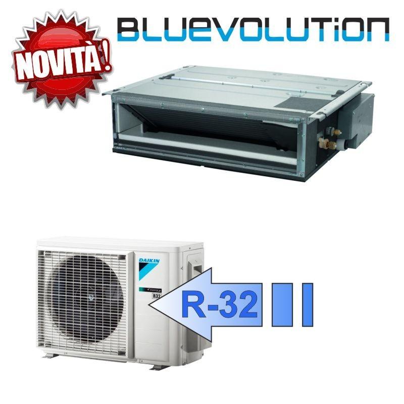 Daikin FDXM35F3 RXM35M9 Climatizzatore Mono Split Canalizzabile FDXM-F3 Bluevolution BTU 12000 R-32 (Comando ad Infrarossi)