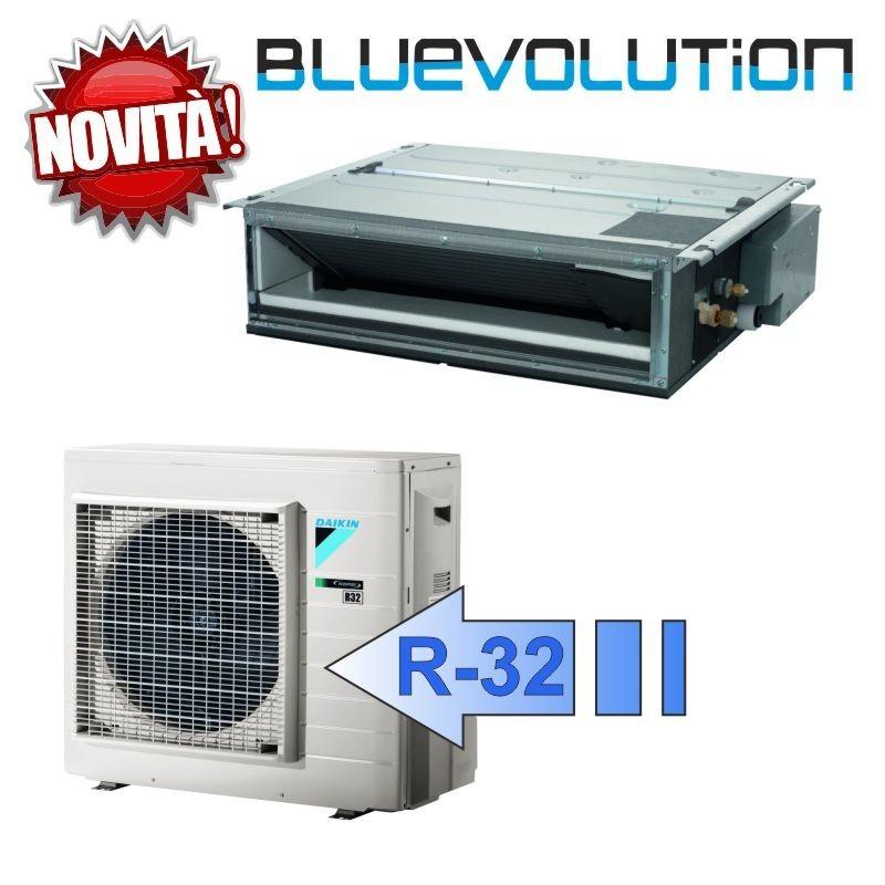Daikin FDXM50F3 RXM50M9 Climatizzatore Mono Split Canalizzabile FDXM-F3 Bluevolution BTU 18000 R-32 (Comando a Filo)