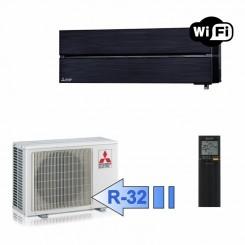 Mitsubishi MSZ-LN35VGB MUZ-LN35VG Climatizzatore Mono Split Parete Serie Kirigamine Style Nero WiFi BTU 12000 R-32