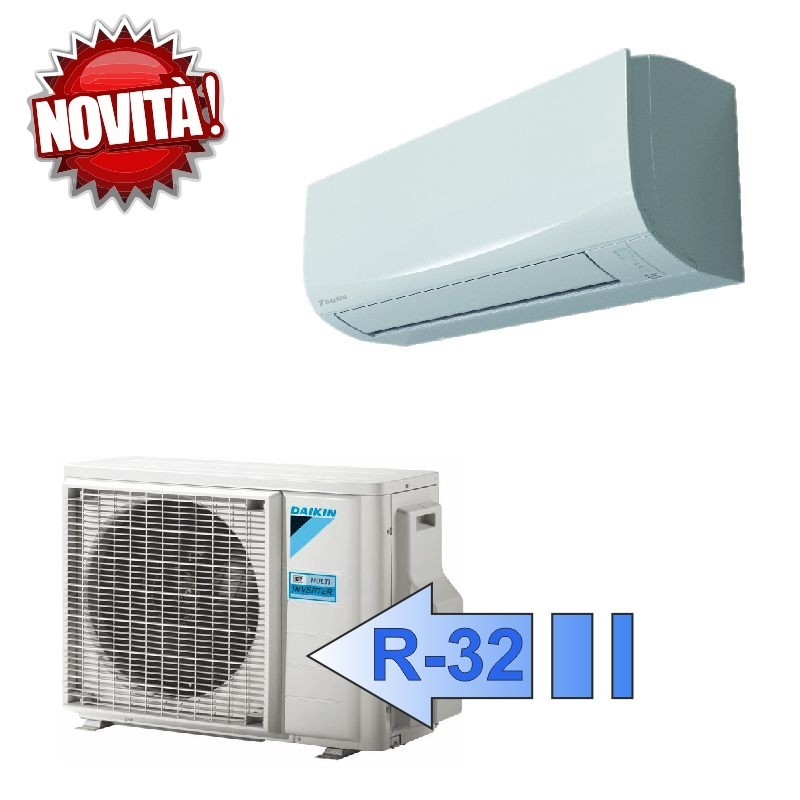 Daikin FTXF20A RXF20A Climatizzatore Mono Split Parete Serie Sensira Eco Plus FTXF-A BTU 7000 R-32