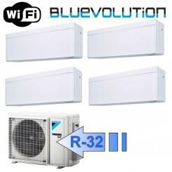 Daikin 3x FTXA20AW FTXA25AW 4MXM68M/N Climatizzatore Quadri Split Serie STYLISH Bianco WiFi BTU 7+7+7+9 R-32