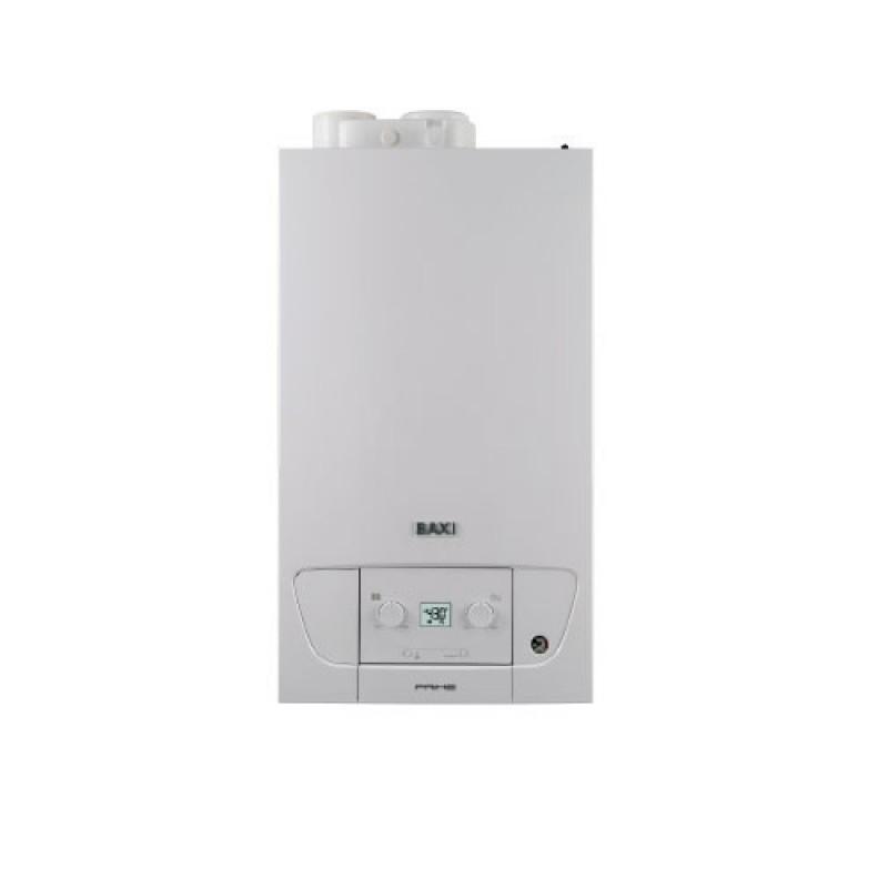 Baxi Caldaia Murale ErP Prime 26 Metano - GPL  Condensazione Camera Stagna (20 kW-26 kW) + Scarico Fumi Sdoppiato