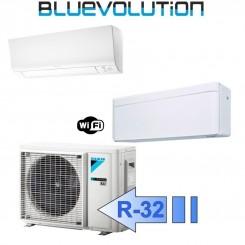 Daikin FTXM25M FTXA35AW 2MXM40M Climatizzatore Dual Split Parete Serie M + STYLISH Bianco WiFi BTU 9+12 R-32