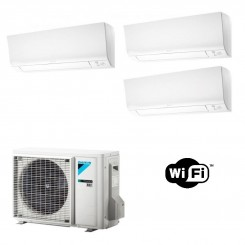 Daikin Condizionatore FTXM20N FTXM25N FTXM25N 3MXM52N Trial Split Perfera Gas R-32 Bluevolution 7+9+9 WiFi