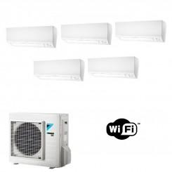 Daikin Condizionatore 5 x FTXM25N 5MXM90N PENTA Split Perfera R-32 Bluevolution 9+9+9+9+9 WiFi