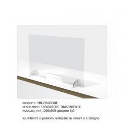 Separatore protettivo trasparente 1000X900