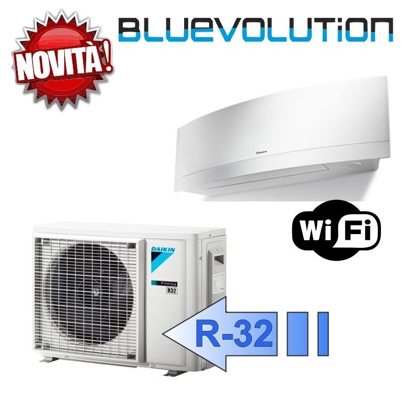 Daikin FTXJ20MW RXJ20M Climatizzatore Mono Split Parete Emura Bianco WIFI Bluevolution 7000 Btu R-32