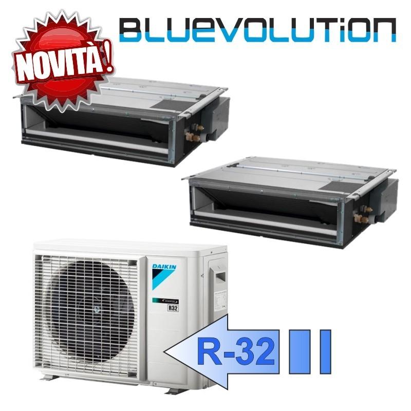 Daikin FDXM25F3 FDXM35F3 2MXM40M Climatizzatore Dual Split Canalizzabile FDXM-F Bluevolution 9+12 Btu R-32