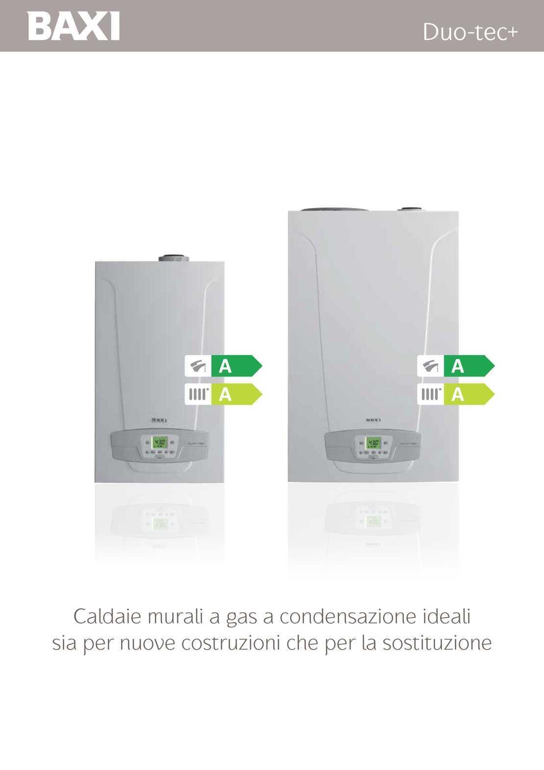 Caldaia Baxi Duo Tec Compact GA erp