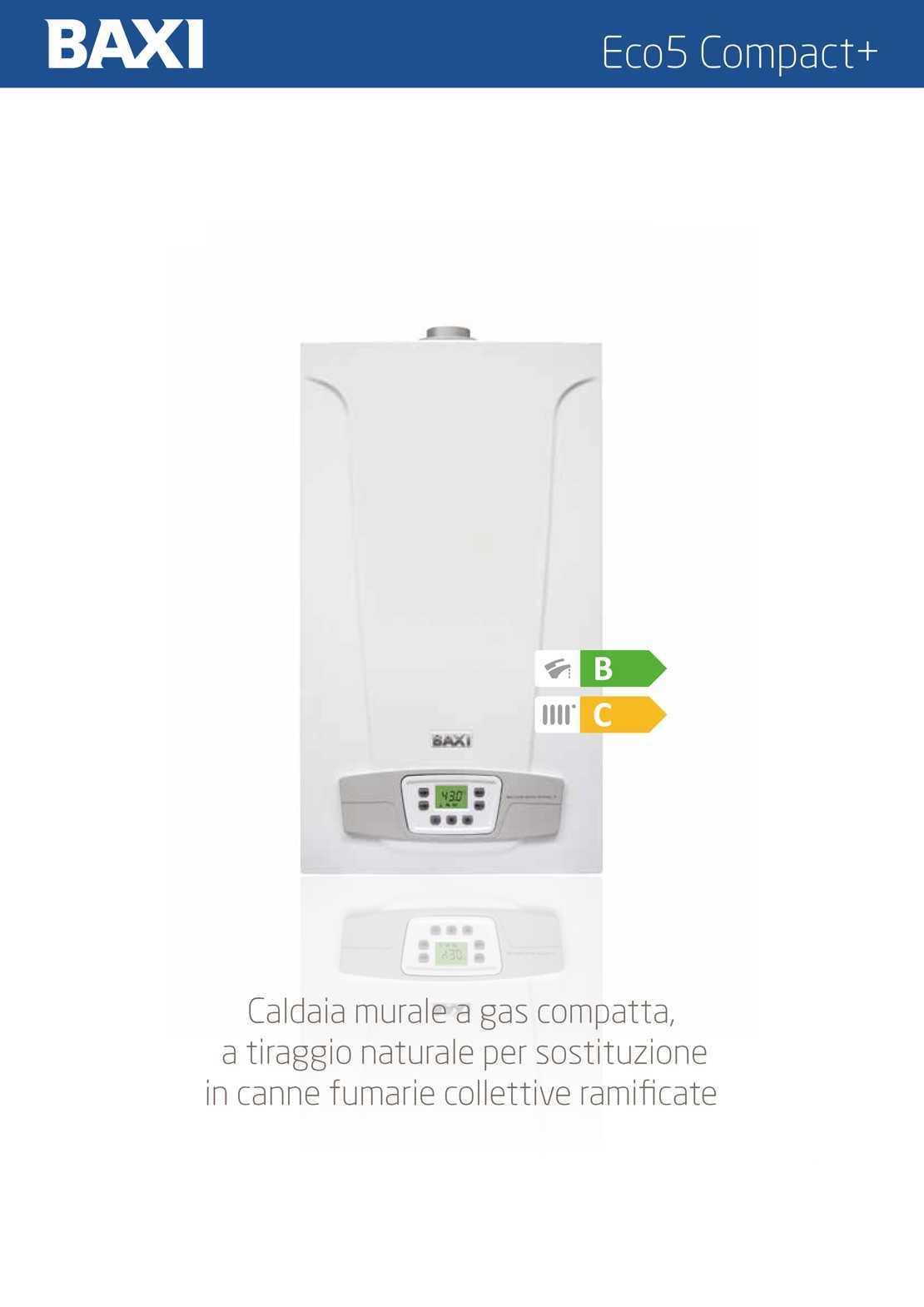 Caldaia Baxi Eco 5 Compact erp