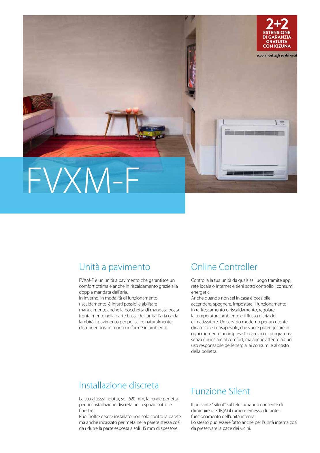 Daikin Climatizzatore fvxm-f