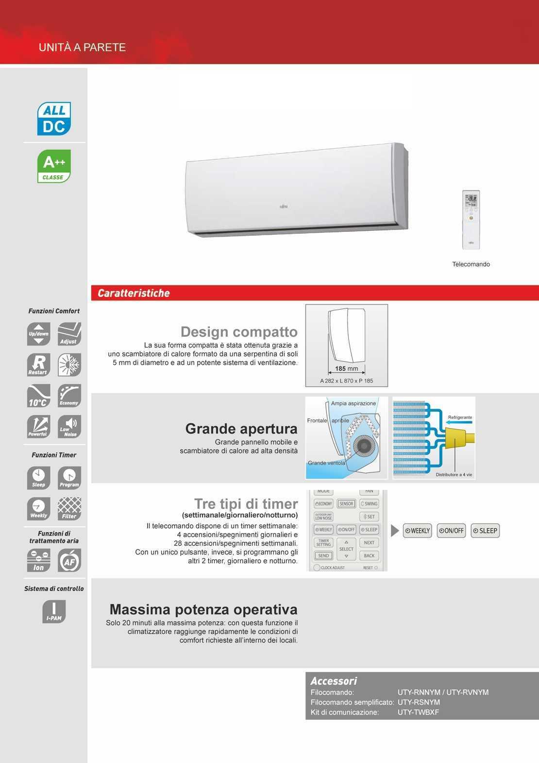 Fujitsu Climatizzatore LU