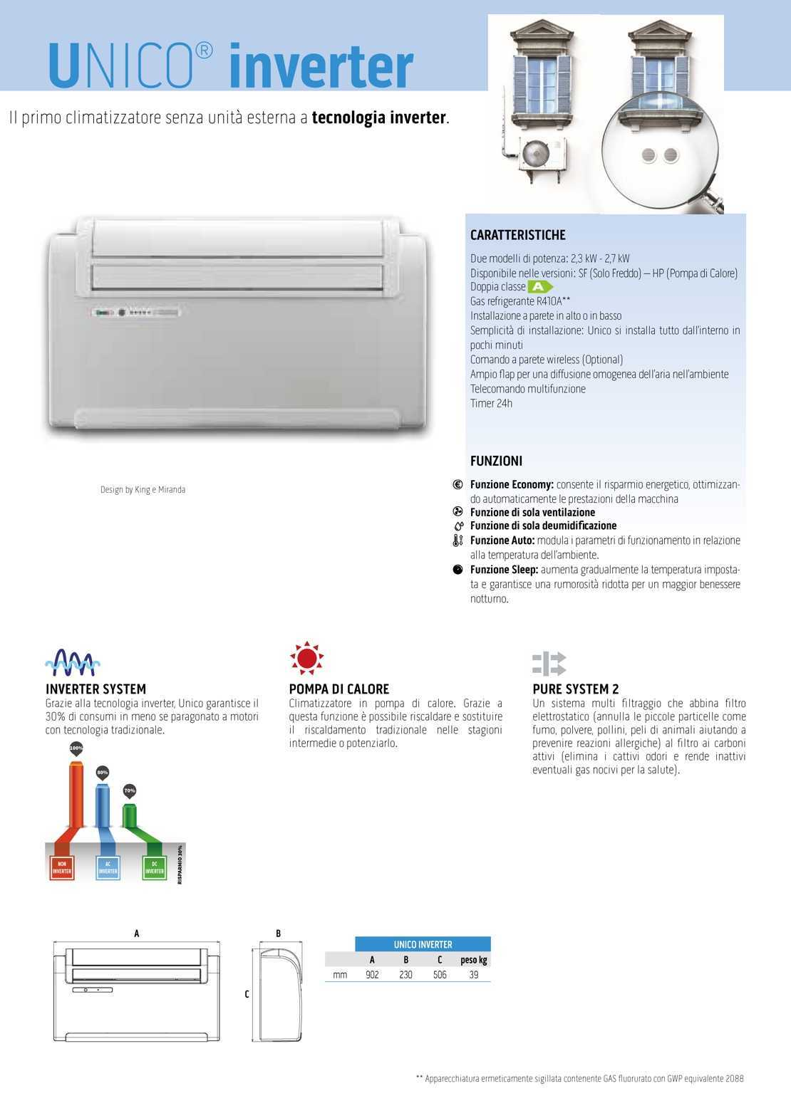 Olimpia Splendid Unico Inverter