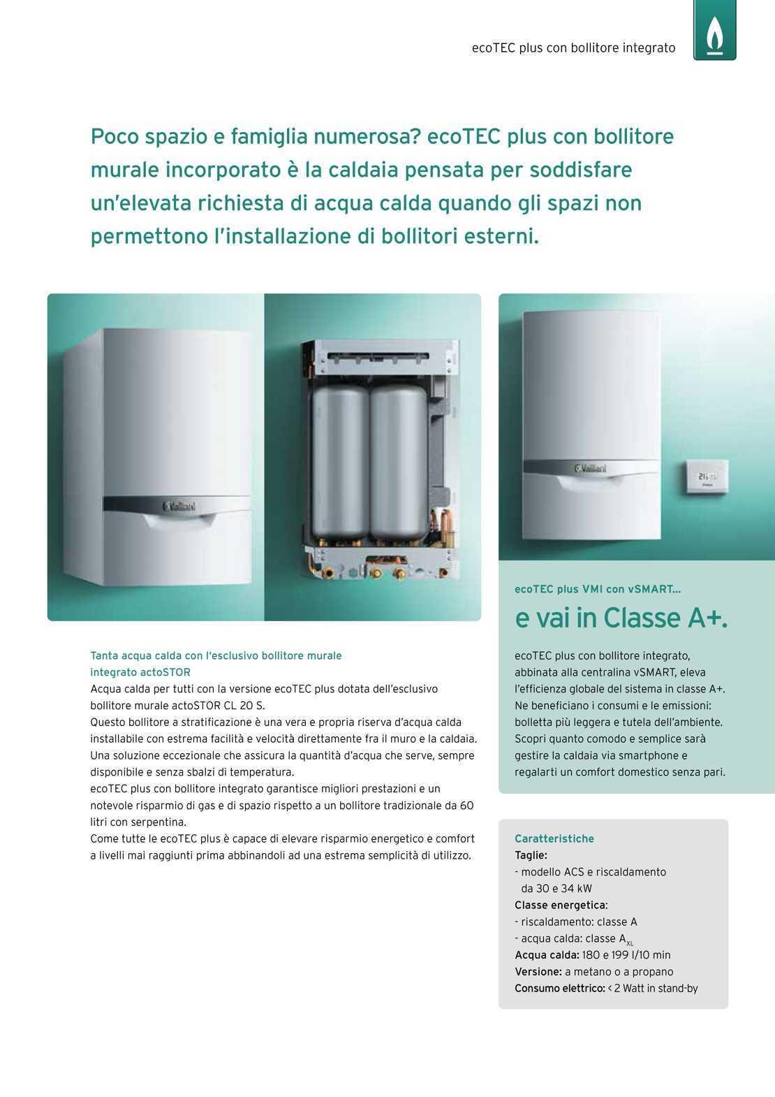 Vaillant Caldaia ecoTEC plus VMI306