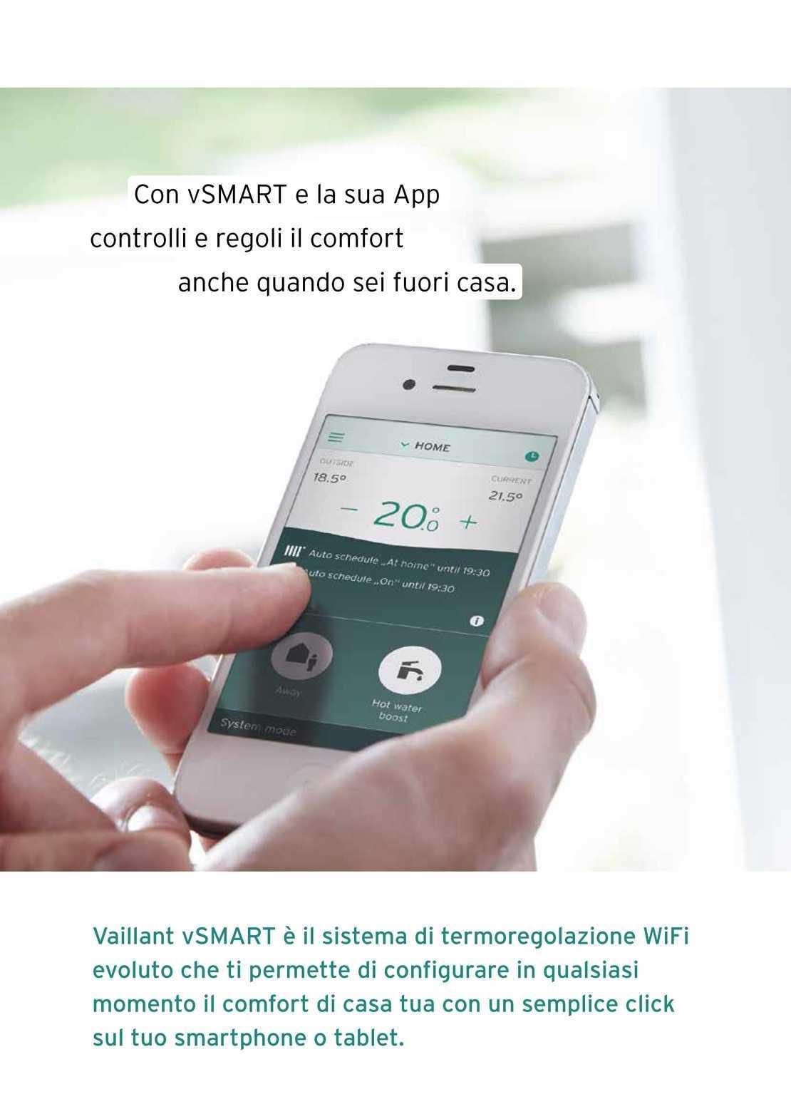 Vaillant Caldaia ecoTEC plus VMW306 vSmart WiFi