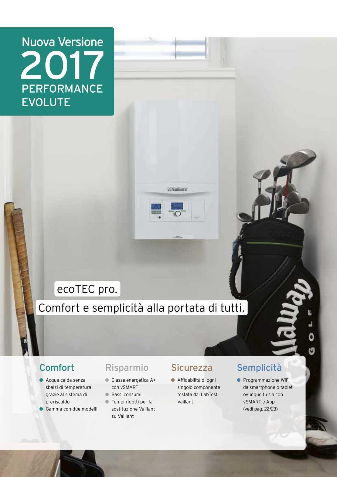 Vaillant Caldaia ecoTEC pro VMW236 vSmart WiFi