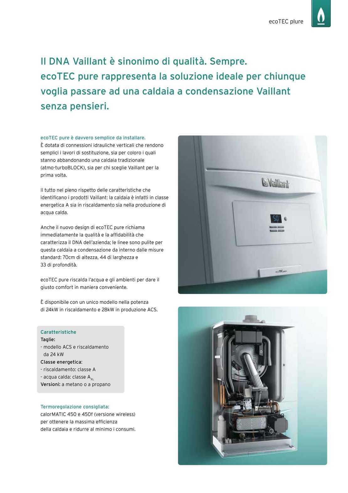 Vaillant Caldaia ecoTEC pure VMW246